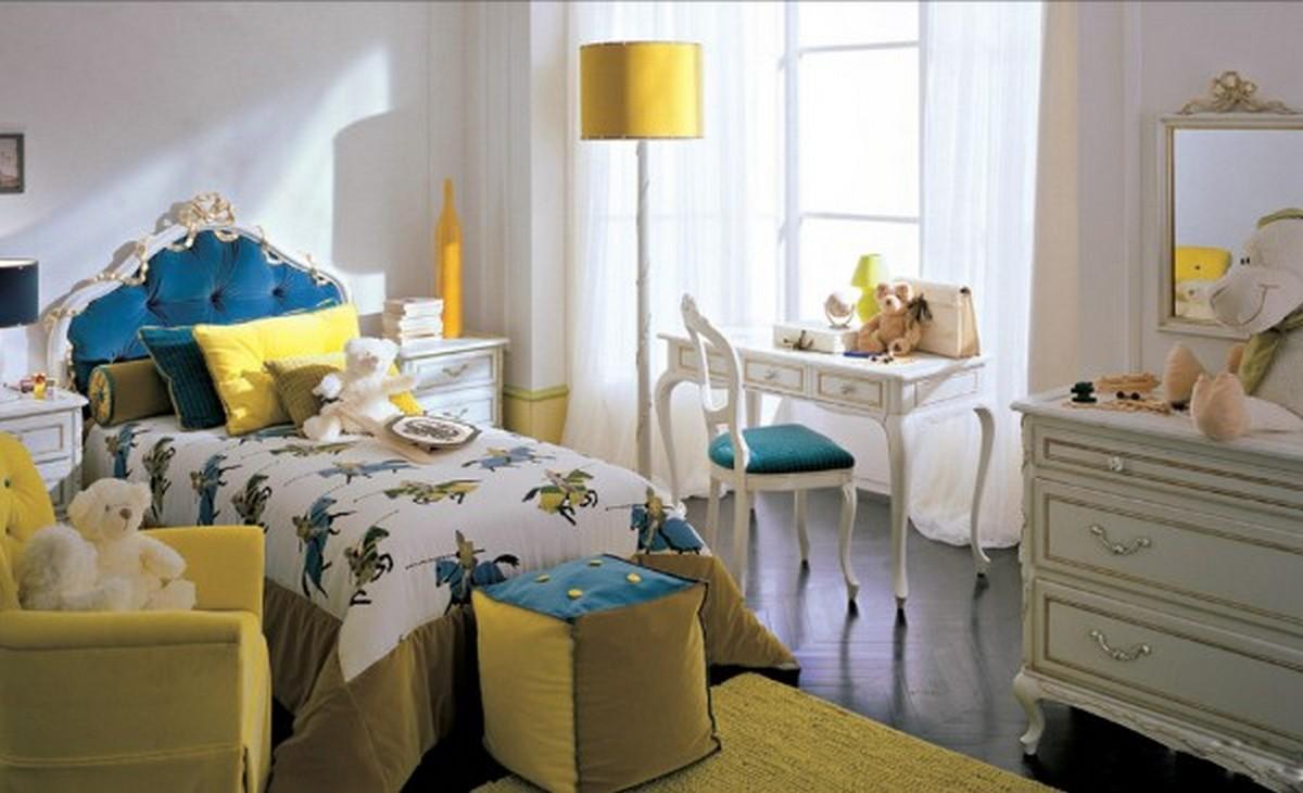 детская комната для маленькой девочки освещение