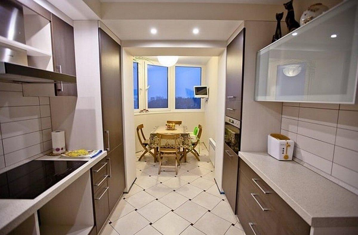 дизайн кухни 12 кв м с выходом на балкон фото новинки