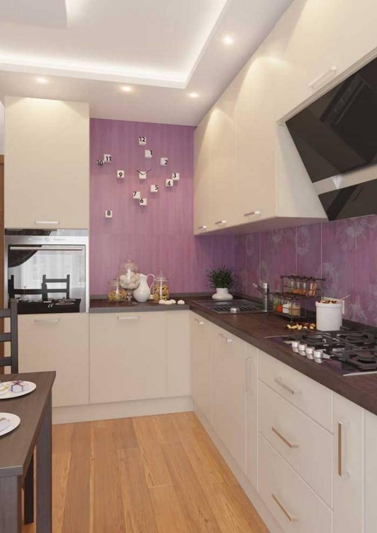 дизайн кухни 12 кв м с диваном на фото