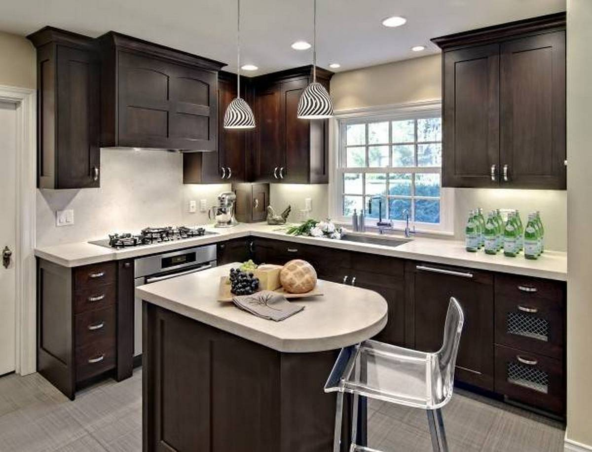 дизайн кухни в квартире 12 кв м