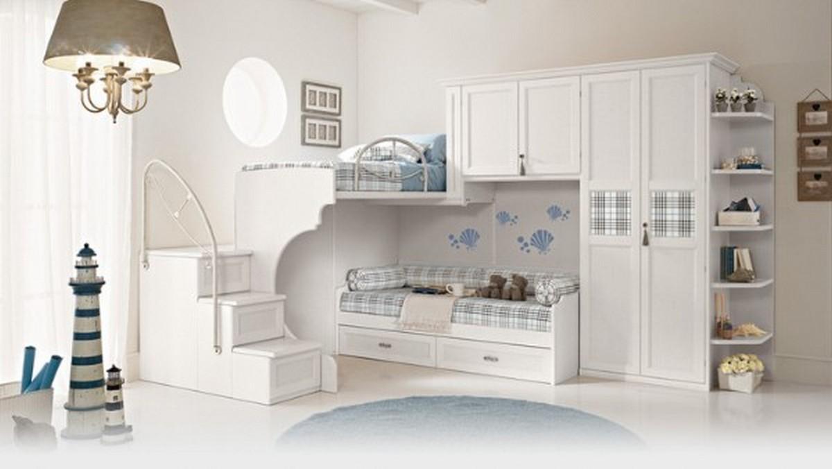 дизайн освещения в детской комнате для двух детей