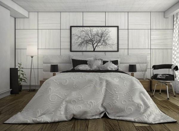 эффектная спальня в современном стиле