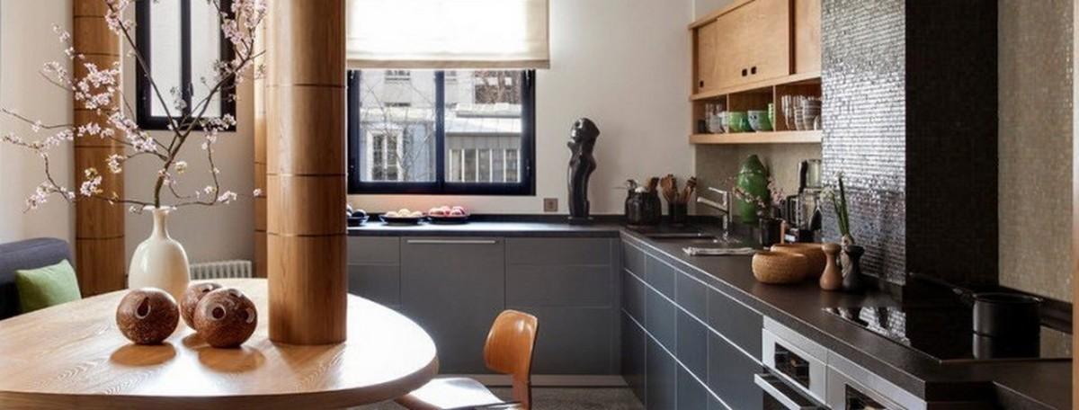 красивая кухня 12 кв м