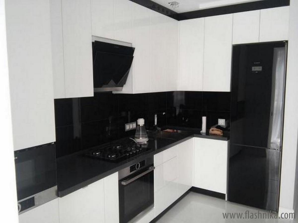 кухни в стиле хай тек фото дизайн