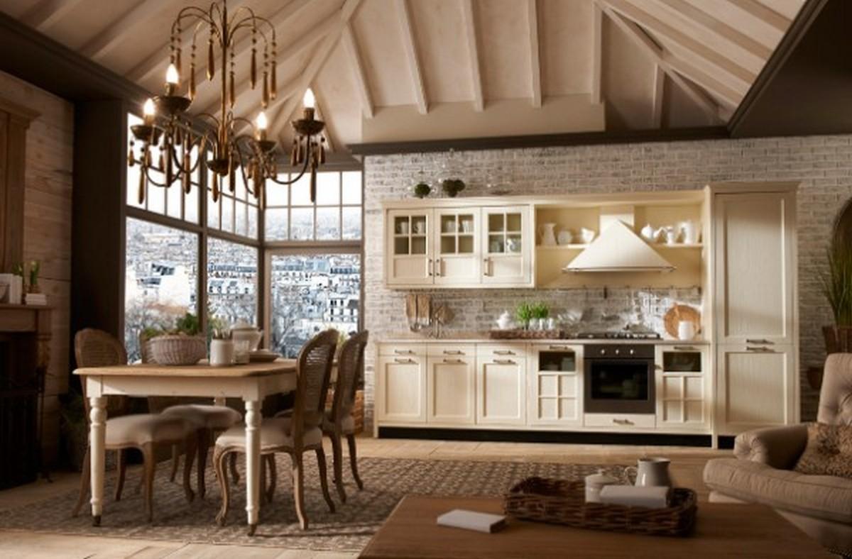 кухня столовая в английском стиле