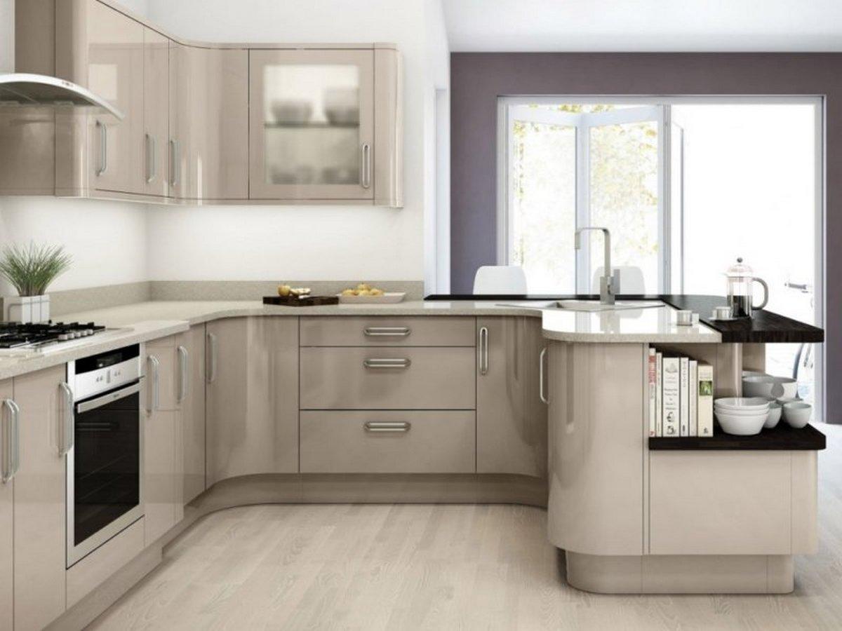 кухня угловая 12 кв м дизайн