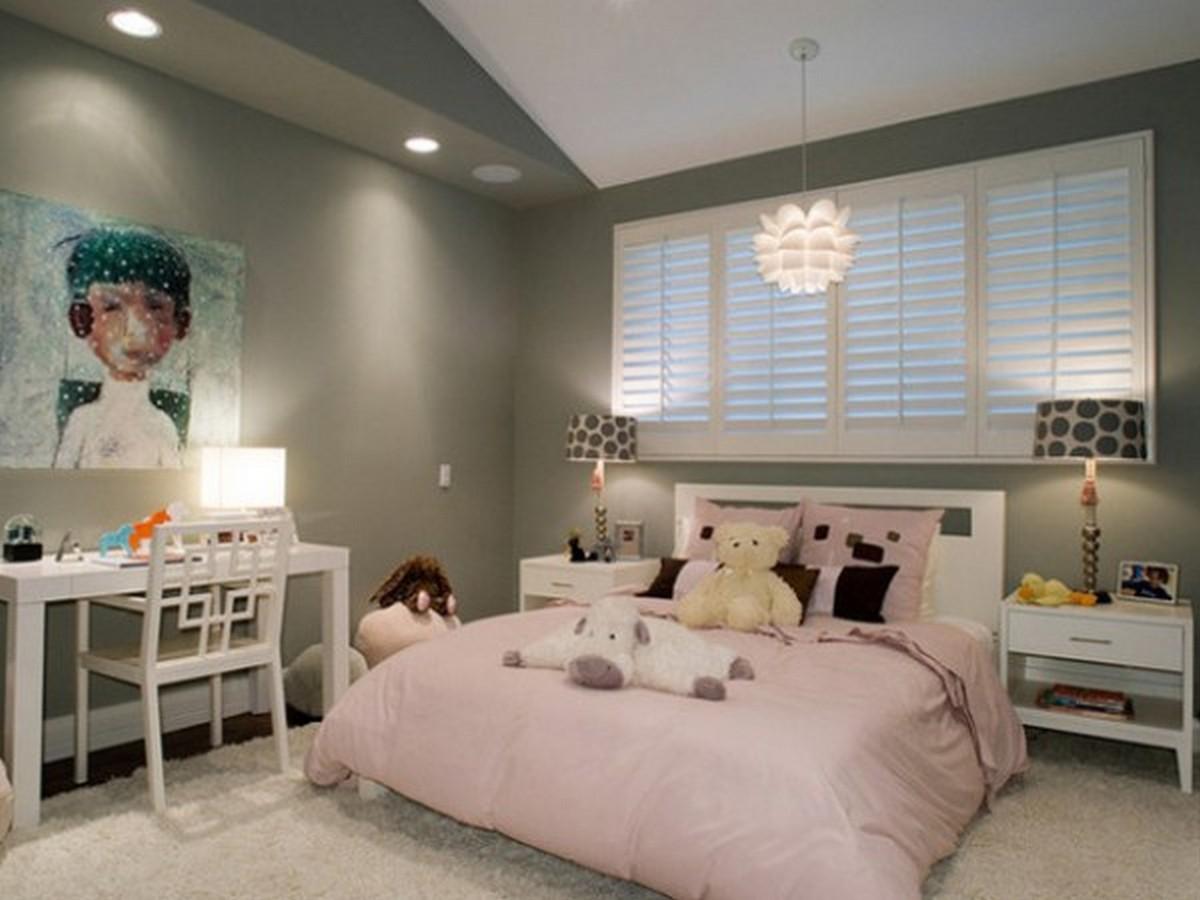 освещение в детской комнате основной свет и дополнительный
