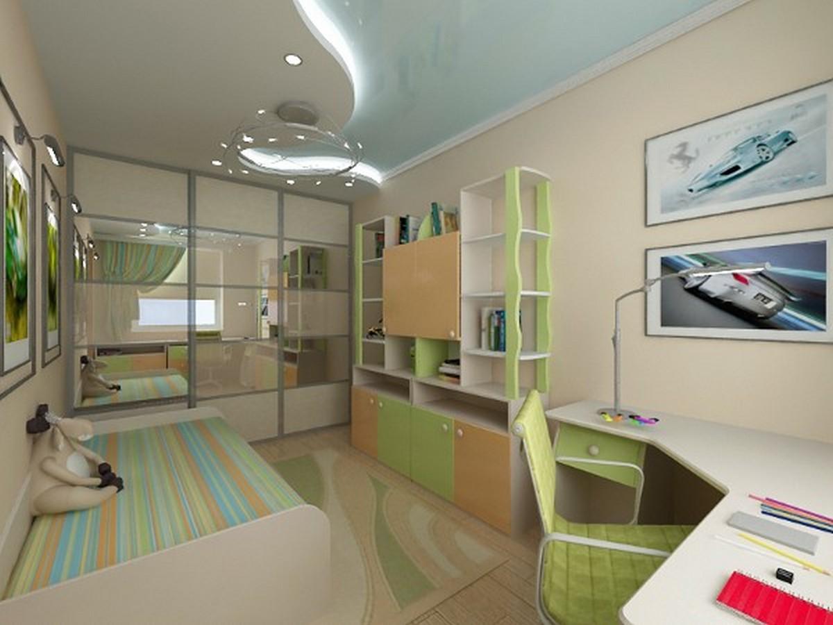 освещение в детской комнате ососбенности
