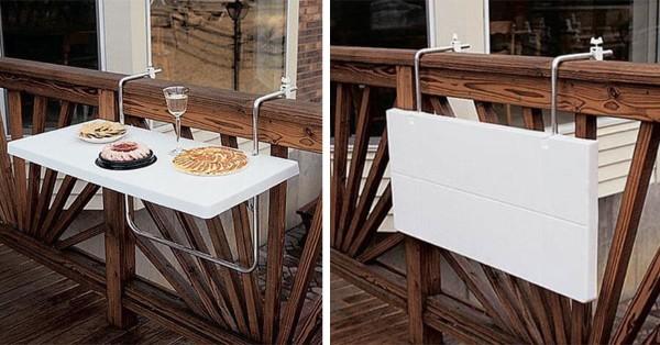 раскладной стол для балкона