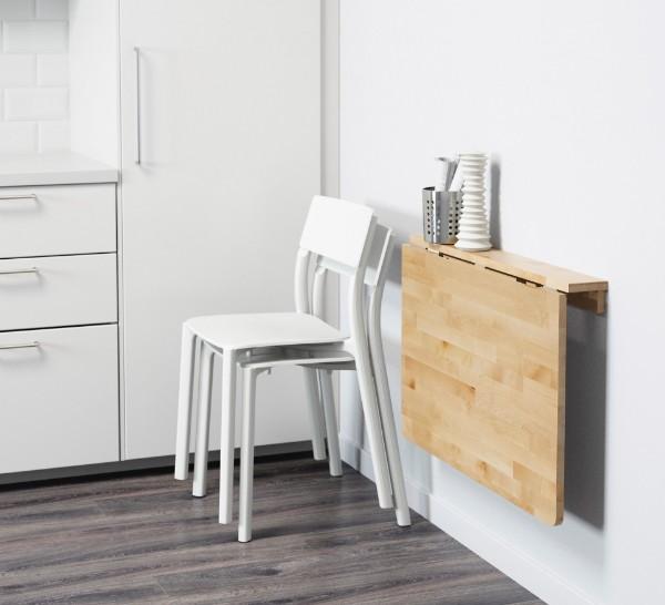 раскладной стол на кухне своими руками в сложенном виде