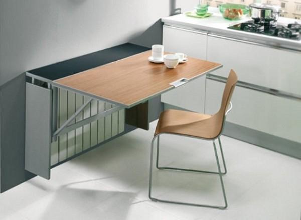 раскладной стол своими руками для небольшого кухонного помещения