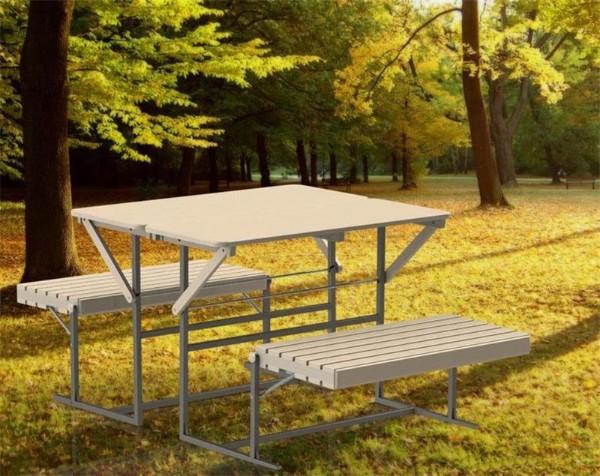 раскладной стол своими руками для сада фото