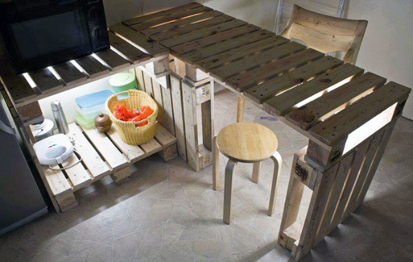 раскладной стол своими руками из поддонов