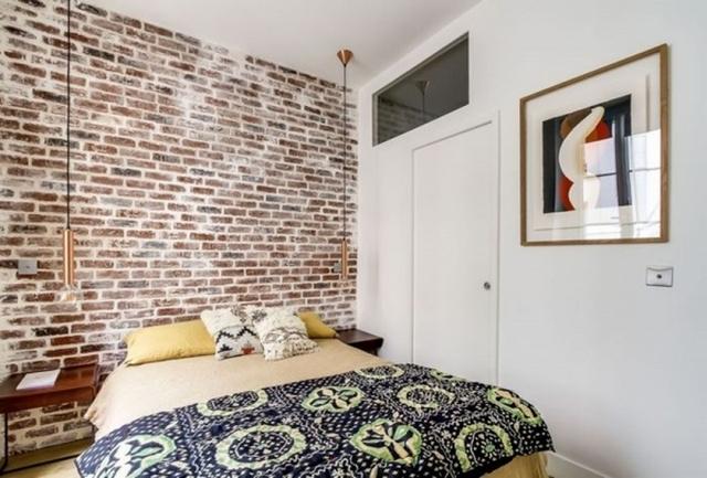 ремонт спальни в стиле лофт