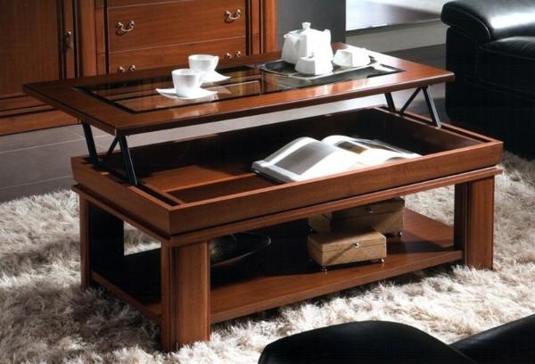 шикарный раскладной журнальный стол