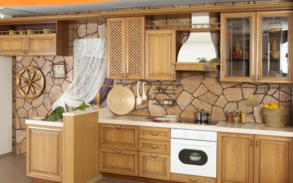 современная кухонная мебель фото