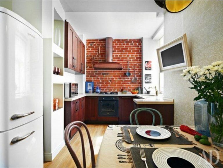 современный дизайн кухни 12 кв м фото
