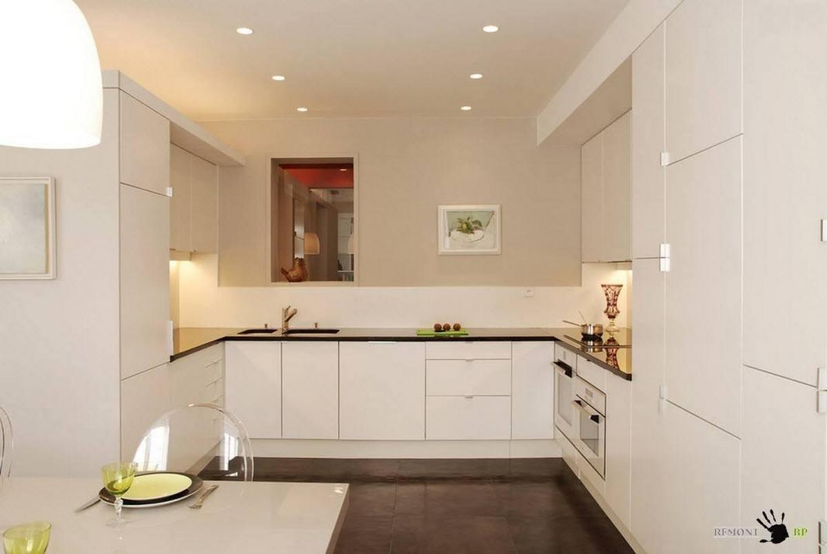 современный дизайн кухни 12 кв м пример
