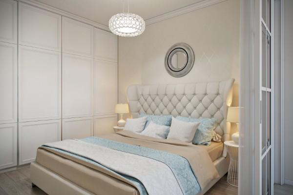 спальня в современном стиле 12 кв. м.