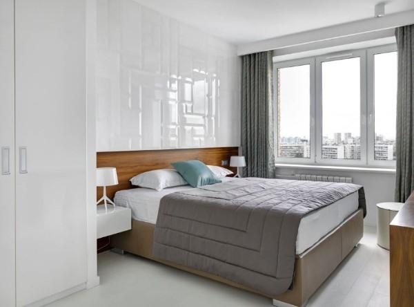 спальня в современном стиле лаконичный интерьер