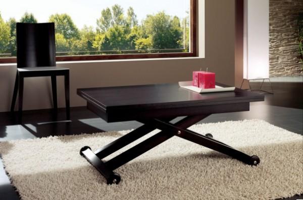 стильный раскладной стол своими руками для гостиной