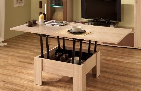 стильный раскладной стол трансформер своими руками из дерева