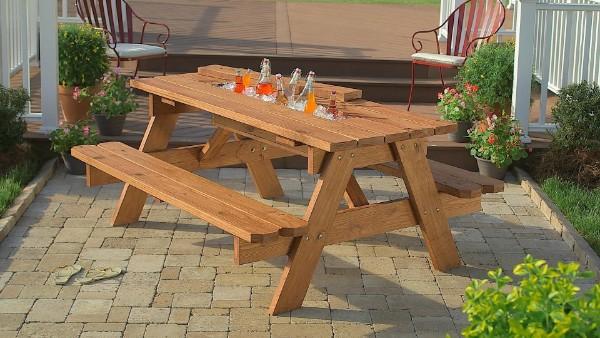 стол для пикника раскладной набор