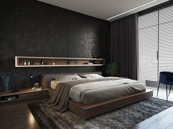 ультрамодная спальня в современном