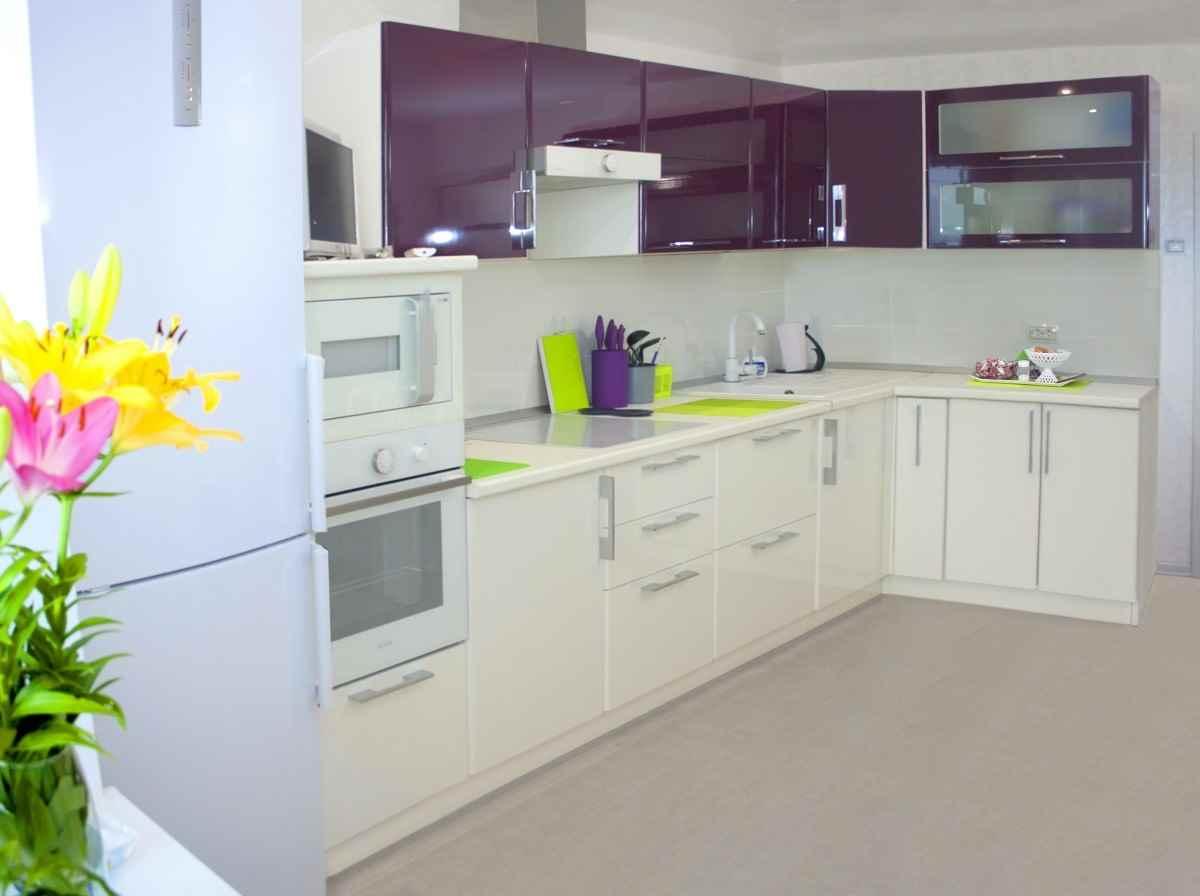 вариант необычного декора кухни 12 кв м