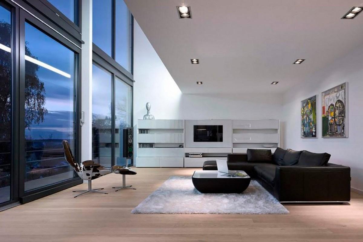 дизайн частного дома зал