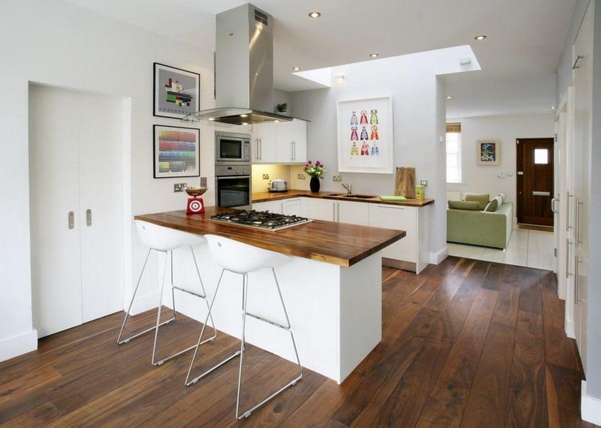 дизайн кухни в частном доме доме