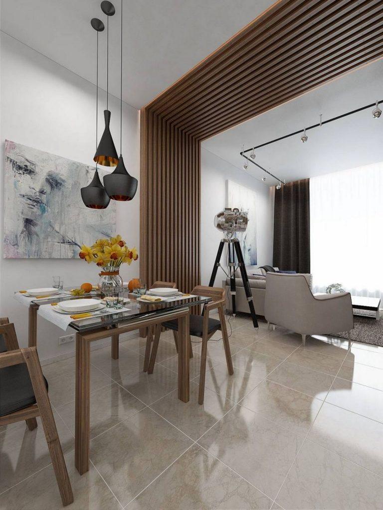 дизайн маленького зала в частном доме