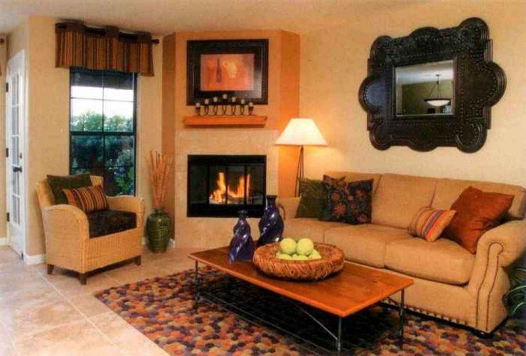 дизайн маленького зала в частном доме гостиная