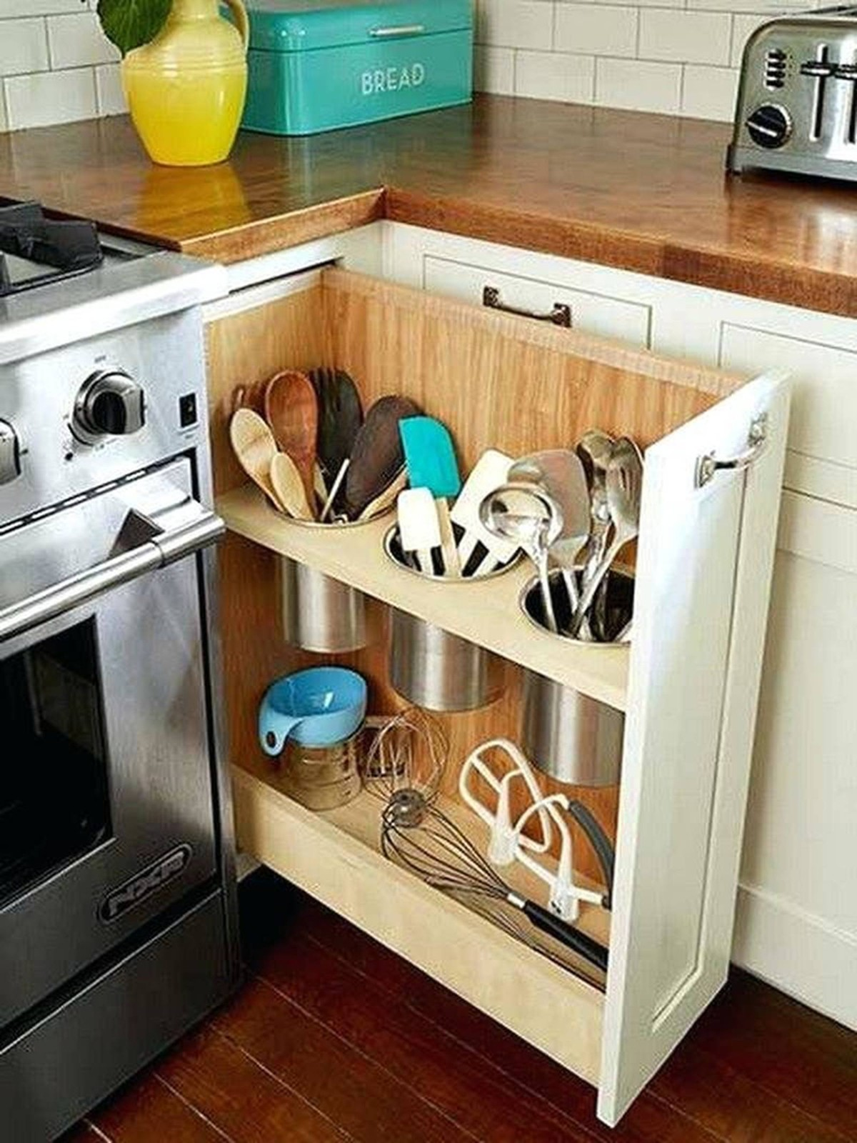 дизайн малогабаритной кухни организация систем хранения утвари