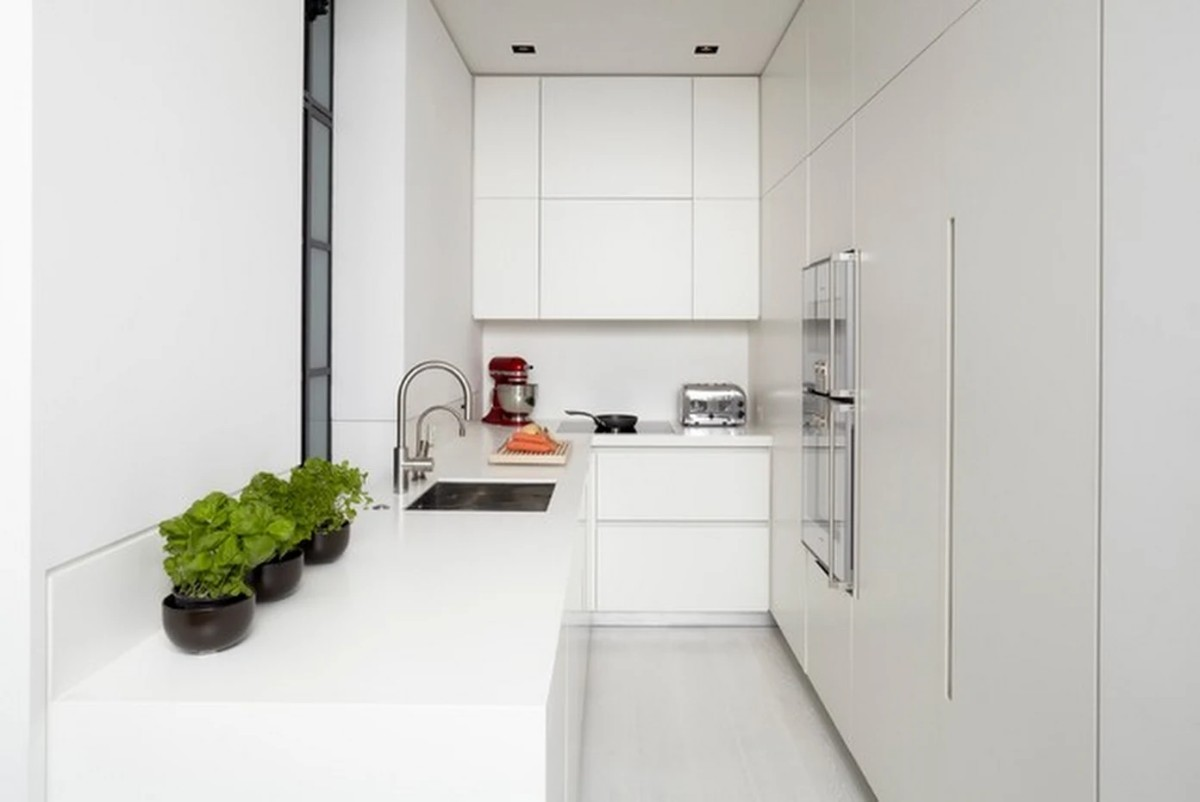 дизайн малогабаритной квартиры отделка белого цвета