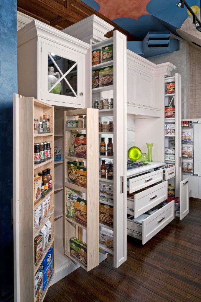 дизайн малогабаритной кухни системы хранения
