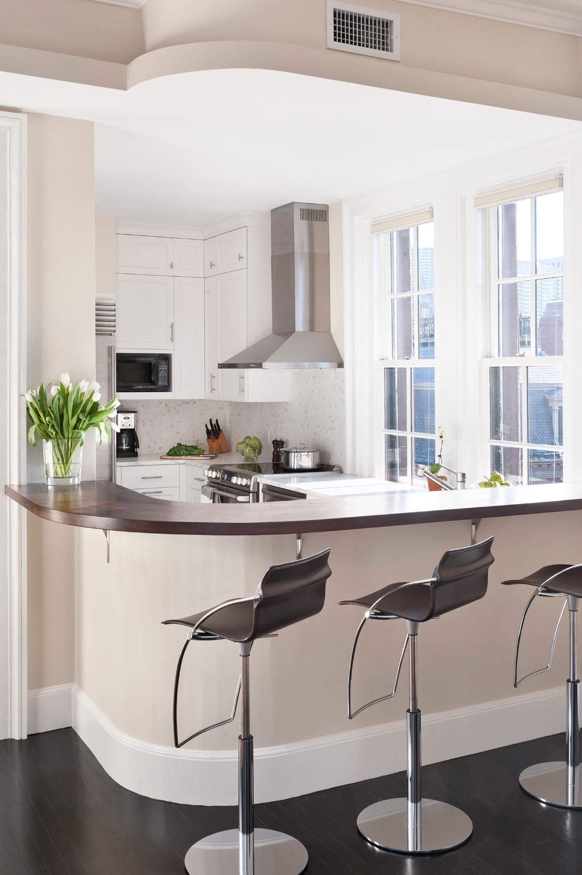дизайн малогабаритной кухни современный стиль