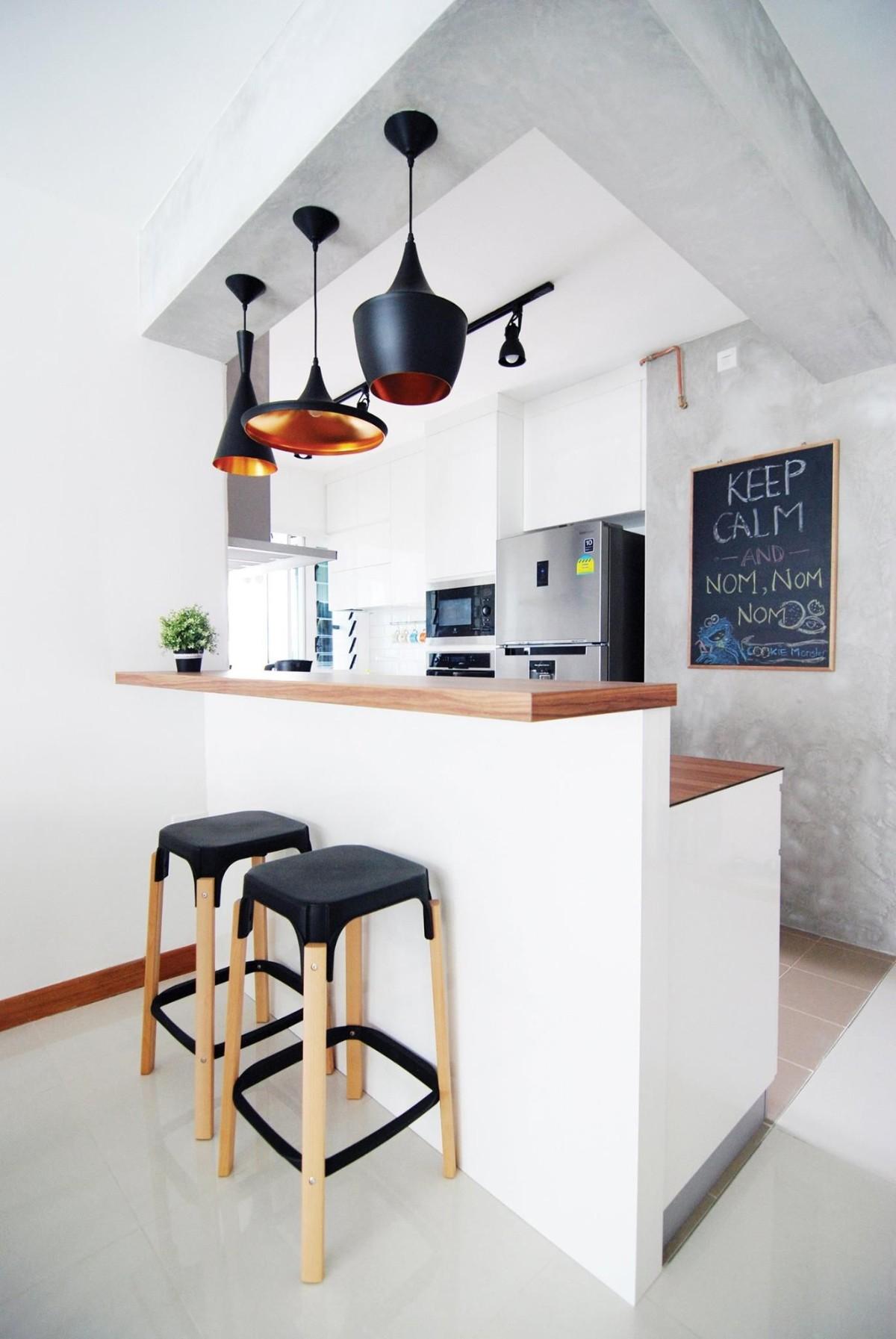 дизайн малогабаритной кухни в белом цвете квартира студия