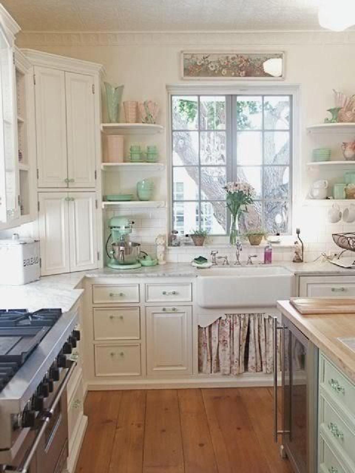 дизайн малогабаритной кухни в стиле прованс
