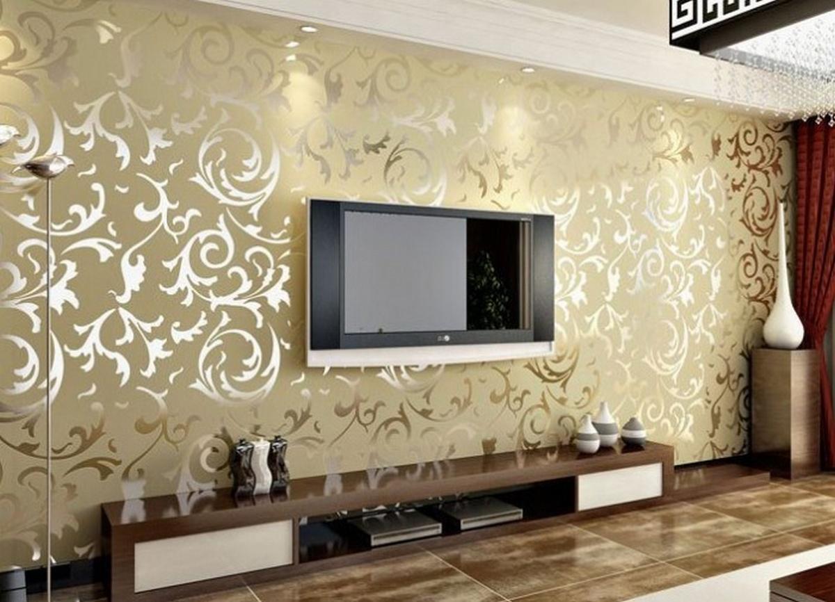 дизайн стен зала в частном доме