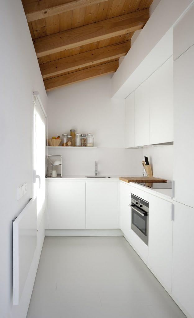 дизайн угловой малогабаритной кухни 6 кв