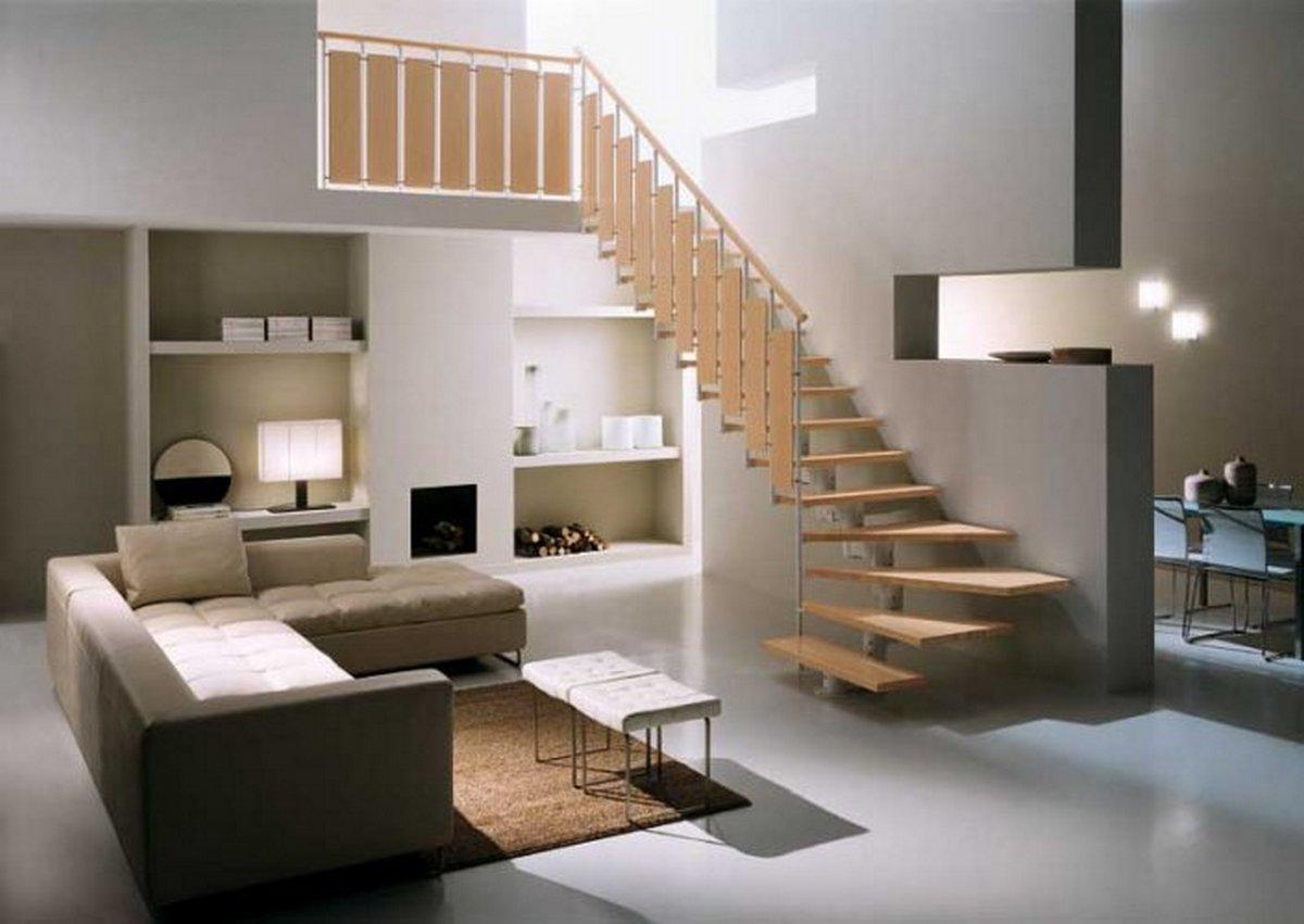 двухуровневая квартира интерьер фото