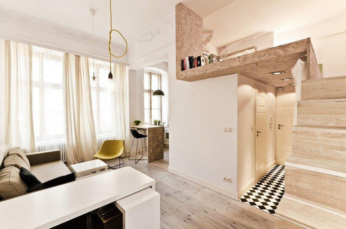 двухуровневая квартира студия солнечная сторона