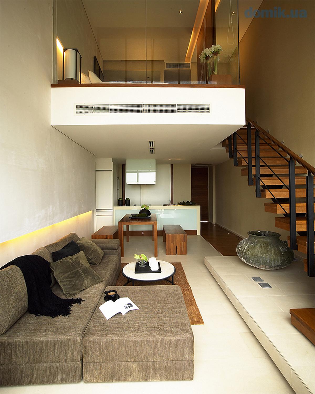 двухуровневые квартиры фото