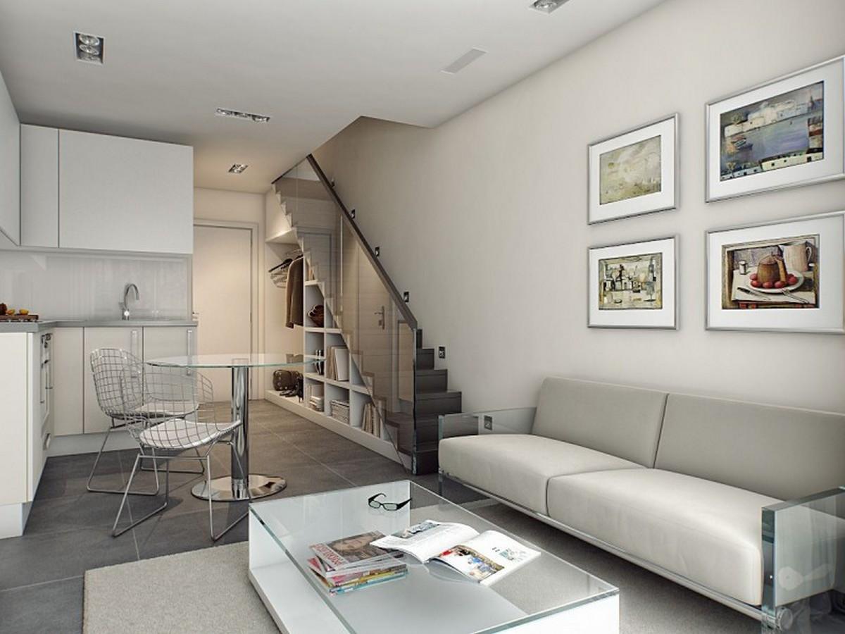 двухуровневые квартиры маленькие
