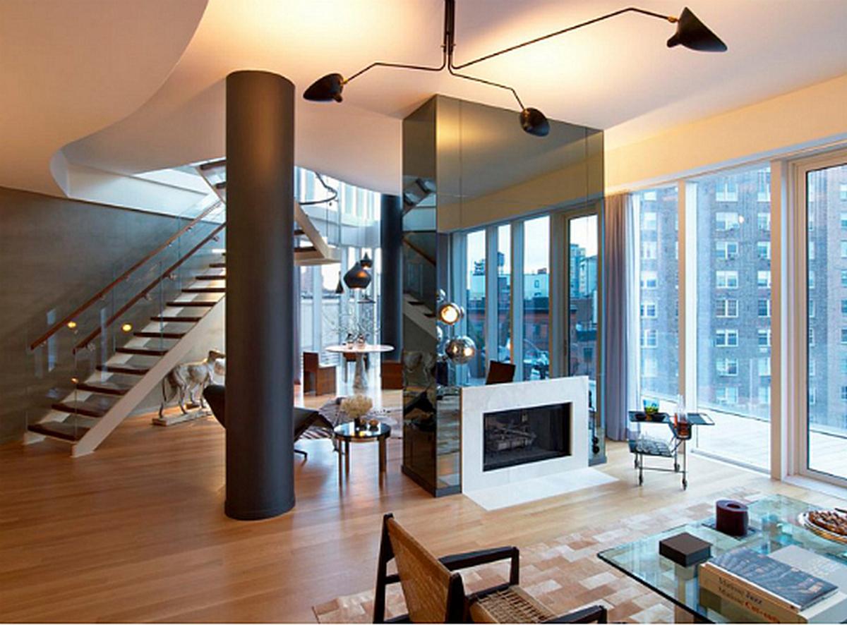 двухуровневые квартиры панорамные окна