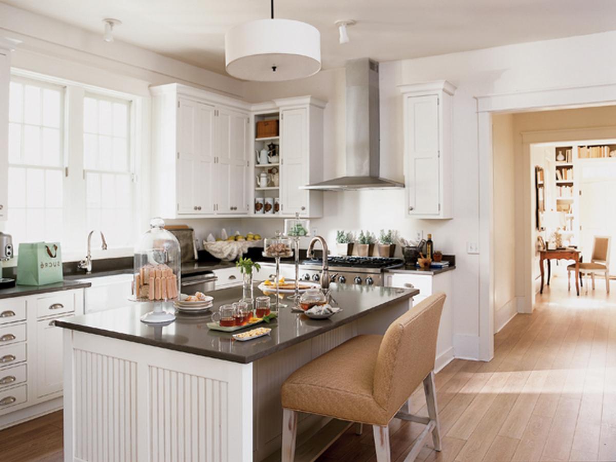 фото кухни гостиной в частном доме