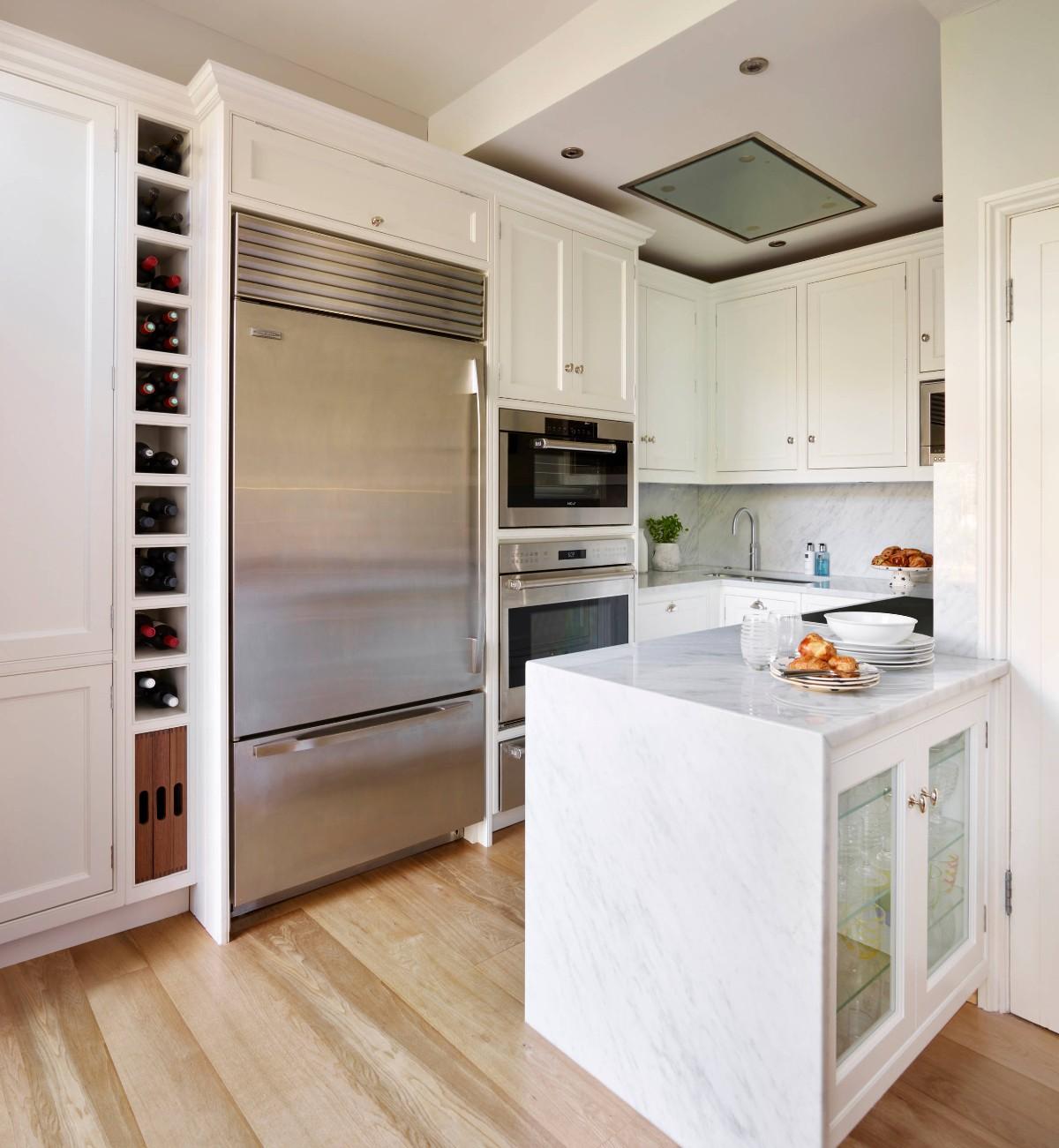 функциональный дизайн малогабаритной кухни
