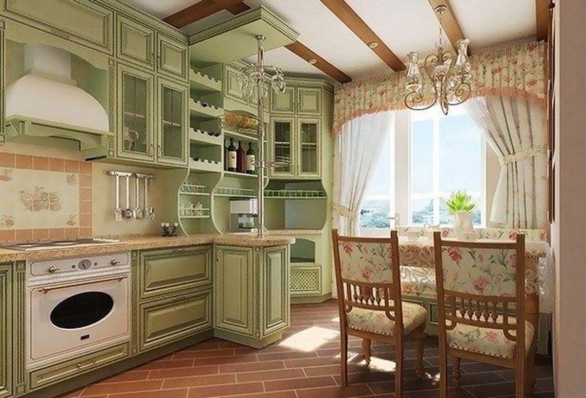 интерьер дома в стиле кантри фото пример