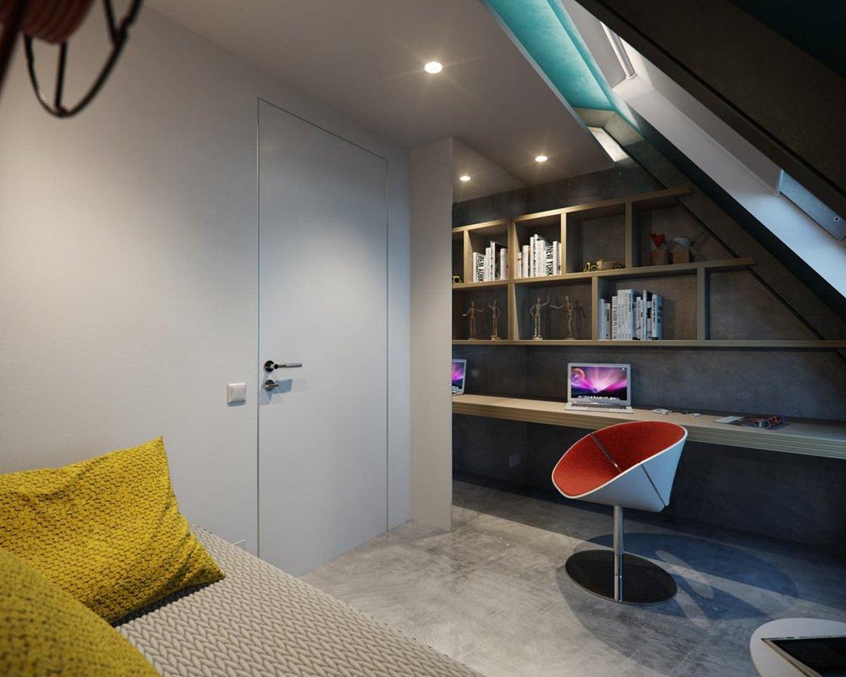 как сделать двухуроневую квартиру планировка